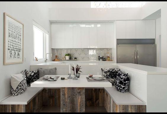 Cozinhas e salas de jantar.  http://bertussi.blogspot.com.br/