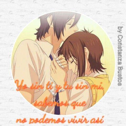 Yo sin ti y tu sin mi.