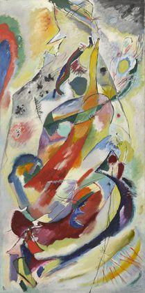 Vasily Kandinsky, Panel for Edwin R. Campbell N°. 1 (1914, MOMA, New York)