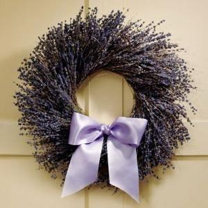 lavender wreath by Naghma