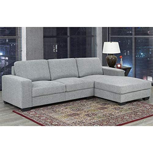 Brassex Hampton Sectional In Grey Luxury Home Furniture Furniture Sectional