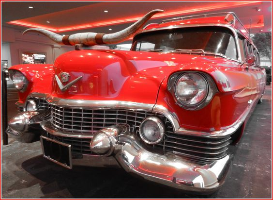 early 50's Cadillac LIMO. ... at Horseshoe Casino - Tunica, MS.