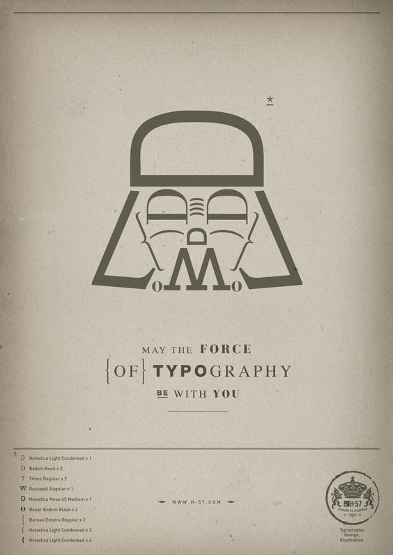 luke... i am your father...: Graphic Design, Letters Typography, Megwise Fontfeast, Typography Poster, Iu Typography, Typographic Poster, Graphic Projects, Graphics Project