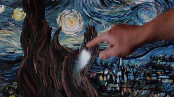Interactive Starry Night :o
