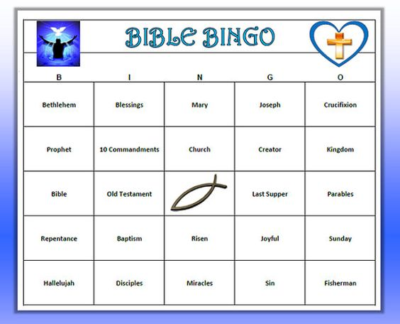 Youth group bible games