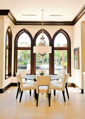 Pinterest the world s catalog of ideas for Dining room trim ideas