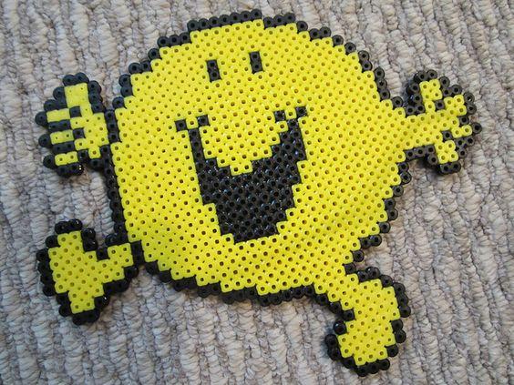 Mr. Happy  - Bügelperlen