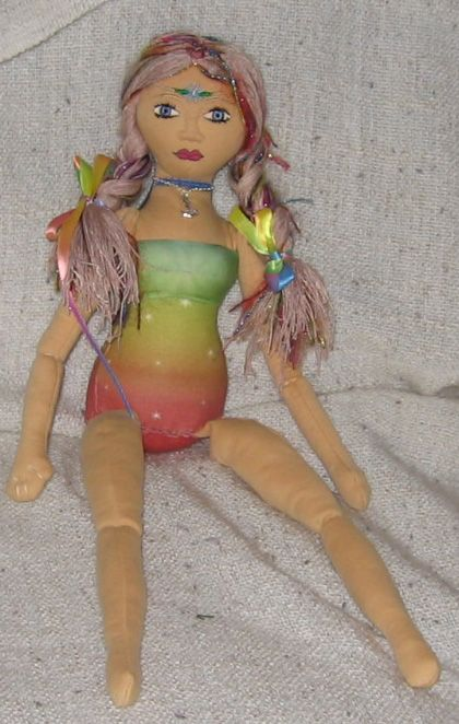 """Newest Doll Creation from """"Embody the Light"""" Doll Kit"""