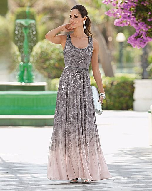Together Ombre Beaded Maxi Dress  J D Williams  wedding stuff ...