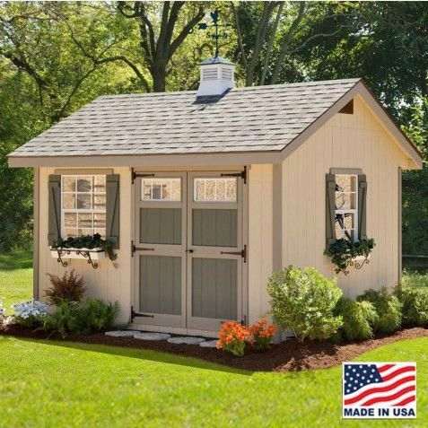 Ez Fit Heritage 8x12 Wood Shed Kit Ez Heritage812 Shed Design Wood Shed Plans Storage Shed Kits