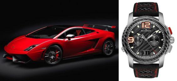 Blancpain L-Evolution Split-Seconds Flyback Chronograph & Lamborghini Gallardo LP570-4 Super Trofeo Stradale