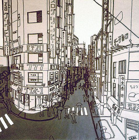 !: Line Drawings, Shibuya Painting, Building Illustrations, Pencil Sketches, Illustration Shibuya, Ilustraciones 01, Illustration Graphics, Art Illustration