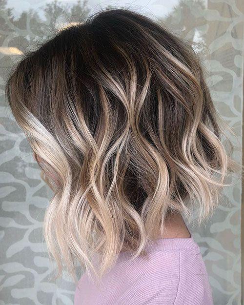 Short Wavy Hair Short Wavy Hair Haircuts For Wavy Hair Thick Hair Styles