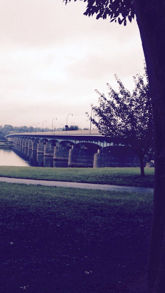 The bridge where we sounded Shofars