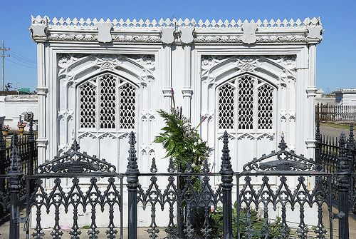 Cast Iron Tombs New Orleans, Louisiana by teladair, via Flickr