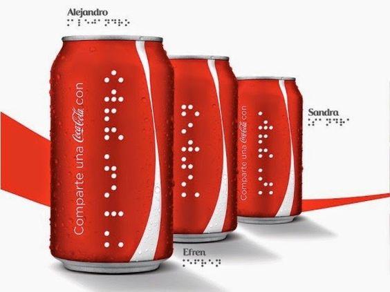 Innamorarsi in cucina: Coca Cola Braille