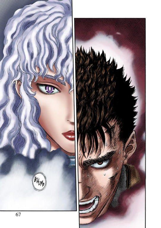 I Colored A Page Berserk In 2020 Berserk Color Manga