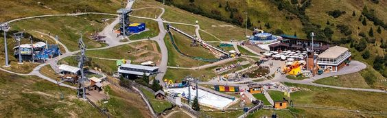 Sommer-Highlight Funpark in Tirol, Österreich.