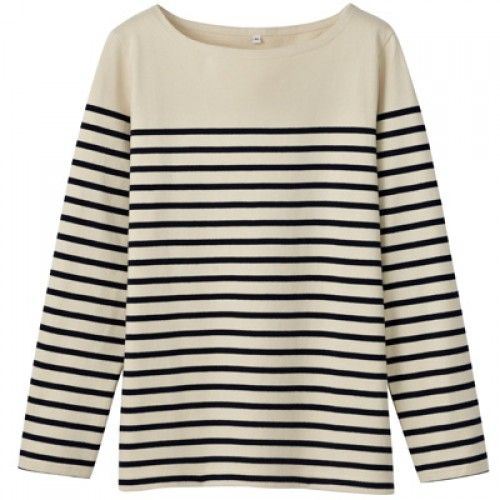 Womens Striped Long Sleeve Shirt