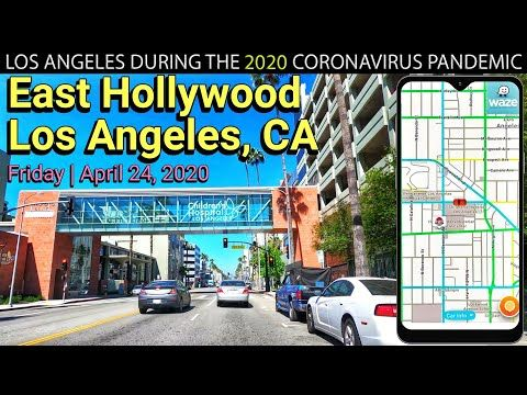 L A Drive East Hollywood Los Angeles California Ambient Music Waze Map Live Tracking Youtube San Pedro Los Angeles Los Angeles Beaches Los Angeles