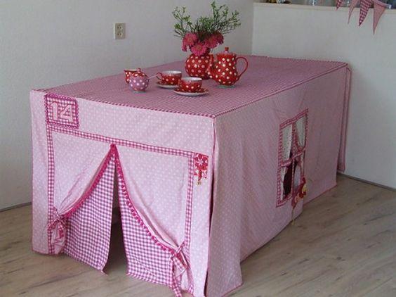 Geweldige roze tafeltent! Door kimkimkim1985
