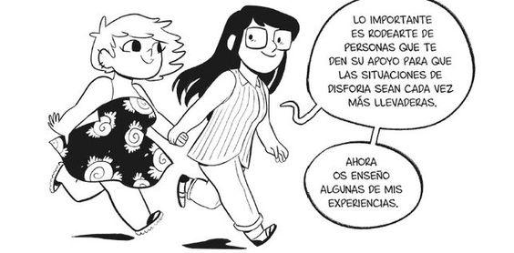 Una de las viñetas de 'Us', de Sara Soler