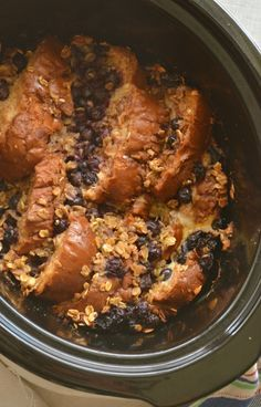 Crock Pot Blueberry French Toast