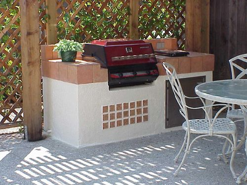 Pin By Kinga Olson On Home In 2020 Simple Outdoor Kitchen Outdoor Kitchen Outdoor Bbq Area