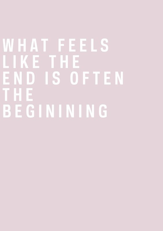 The beginning. Pinterest: pearlxoxoxo