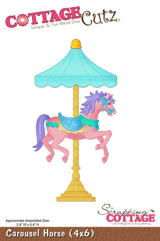 carousel horse crafts - Google Search