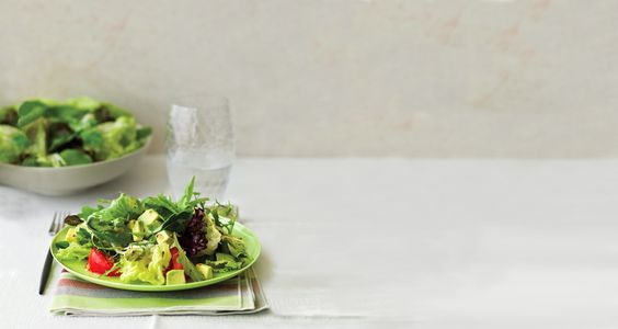 Mixed Baby Greens with Mustard Vinaigrette