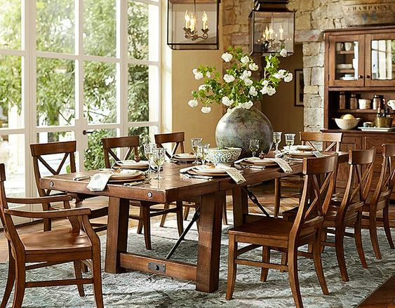 benchwright from pottery barn dining room pinterest table and