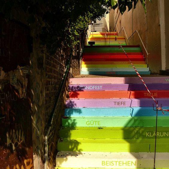 Regenbogentreppe #Wuppertal