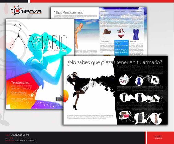 Book Maquetación Magazine Director de Arte                                 -                        José Luis Tienza