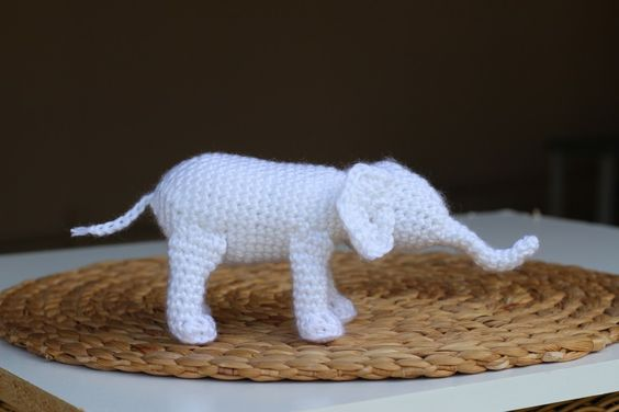 White Elephant- Free Crochet Pattern PLUS Product for Sale