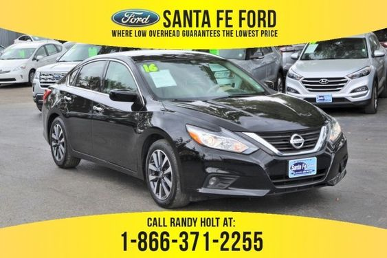 Used 2016 Nissan Altima 2 5 Sv Fwd Sedan For Sale Gainesville Fl