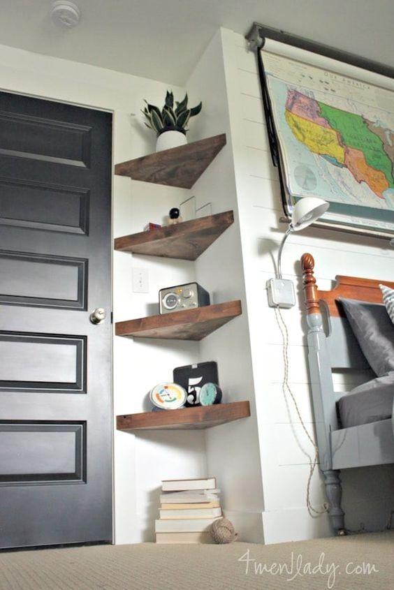 Easy Diy Room Decoration Ideas Diy Home Decor On A Budget Living Room Shelves Room Decor
