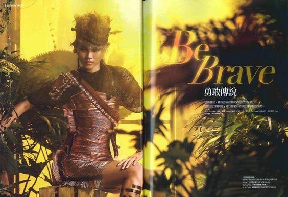 名牌誌 Brand Taiwan July 2014, 連潔