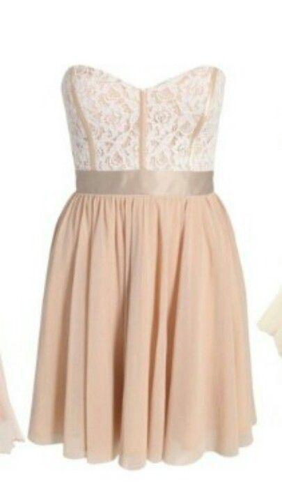 Cute bridesmaid's dress