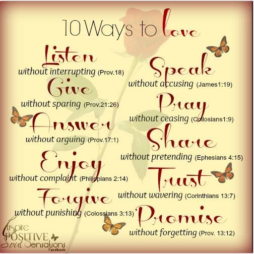 ~Soulfully Grateful~ 10 Ways To Love LISTEN Without