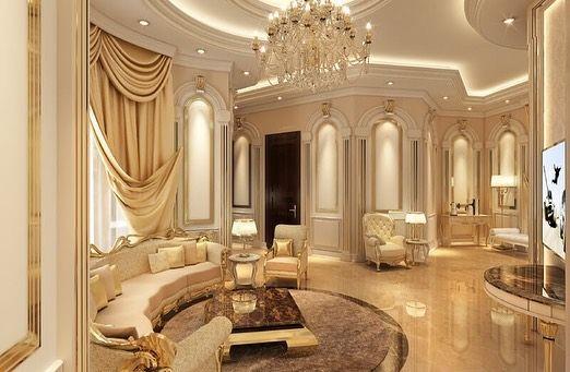 روائع البيت للديكور الداخلي والخارجي خدماتنا 1 تصميم للفلل والمكاتب والمحلات ثري دي 2 Luxury Master Bedroom Design Luxury Bedroom Master Luxury Bedroom Design
