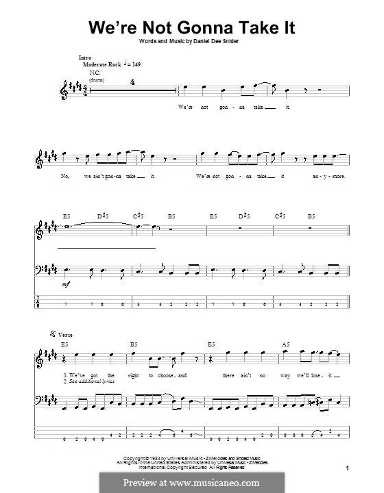 we're not gonna take it (twisted sister) by d.d. snider on musicaneo |  twisted sister, gonna, sisters  pinterest