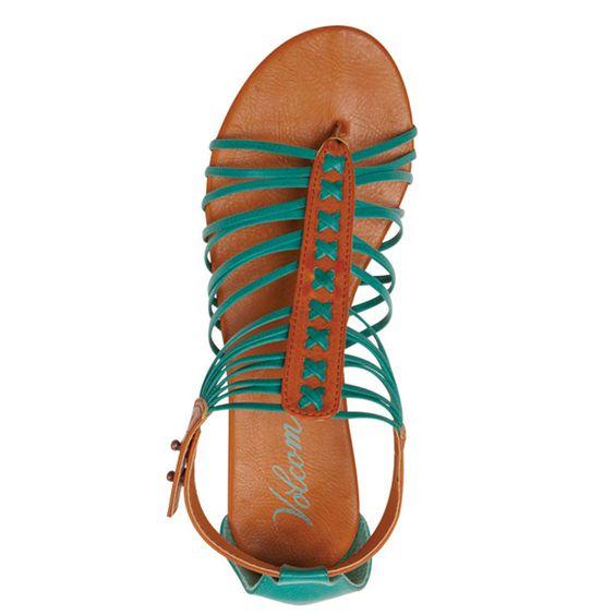 Volcom Be Nice Sandals #bluetomato