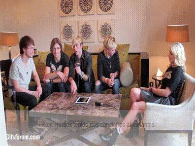 R5.   Ross playing with that pillow!!!!