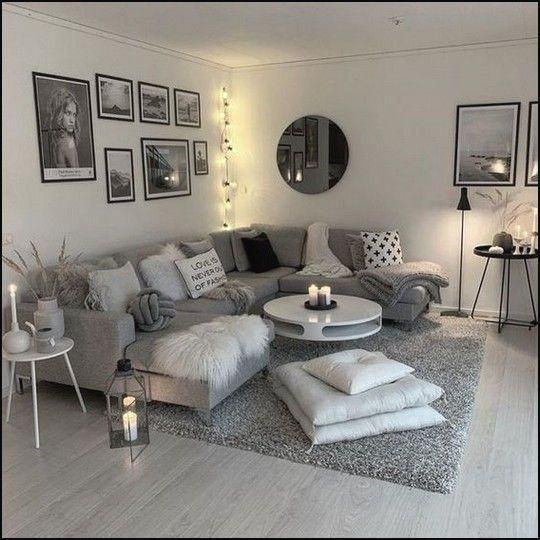 130 Cozy Small Living Room Decor Ideas For Your Apartment Page 6 In 2020 Apartment Living Room Design Small Living Room Decor Elegant Living Room Design