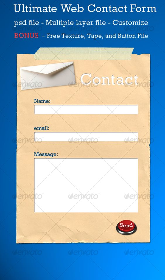 Ultimate web contact form Contact form, Fonts and Font logo - emergency contact form