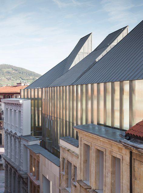 Museo de Bellas Artes de Asturias, Oviedo, 2014 - Francisco Mangado