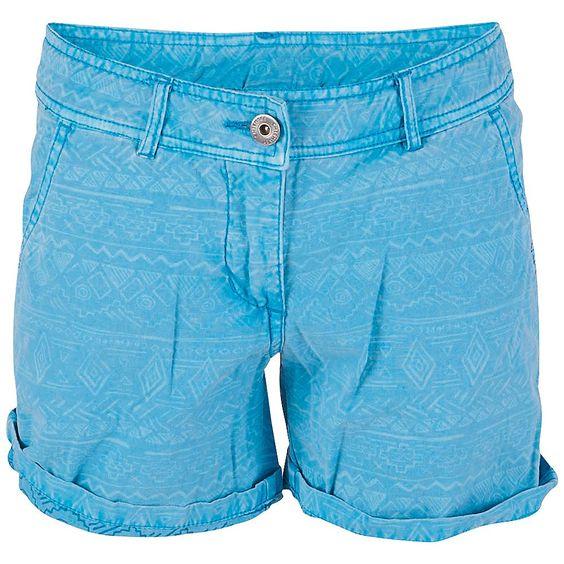 Mädchenhafte Sommer Shorts – ISALIE J von Chiemsee ist modisch angesagt und trifft den Geschmack junger Mädchen. Mit kurzen Beinen und bequemem Baumwollmaterial ist sie ideal warme Sommertage. Eher schlicht im Schnitt mit Seiten- und Gesäßtaschen fällt sie farblich auf jeden Fall auf....