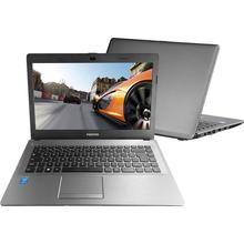 "Notebook Positivo Intel Core i7 8GB RAM HD 1TB Premium XR9430 LCD 14"" Windows 8.1 Cinza chumbo"