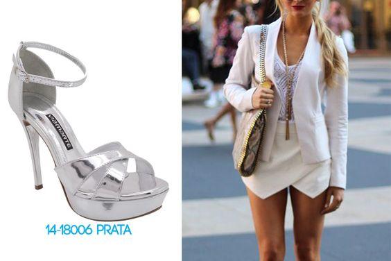 Garotas do Brasil – Via Marte - metalizado - tendências - salto alto - heels - verão 2015 - como combinar - street style